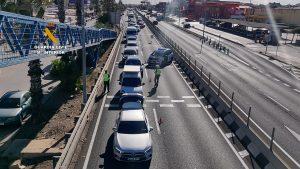 La Guardia Civil continúa con grandes despliegues para el cumplimiento del cierre perimetral 9