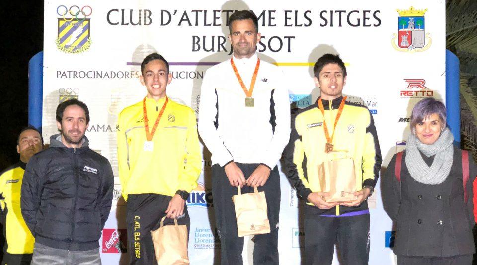 Corchete se proclama campeón autonómico de los 10 km marcha 6