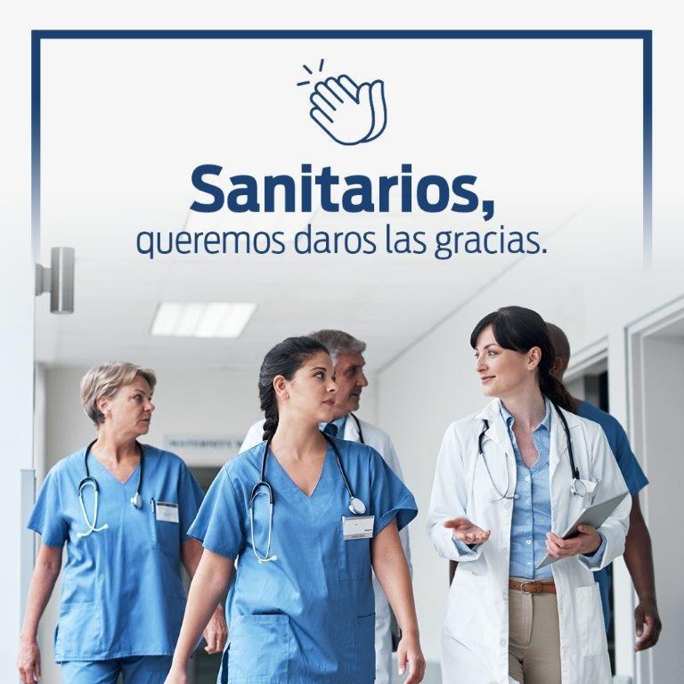 Aucresa lanza una campaña para ayudar a los sanitarios 6