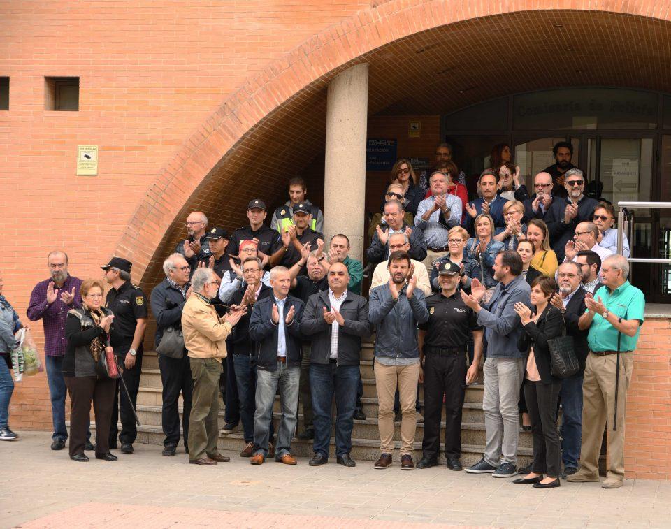 Concentración en apoyo a los cuerpos de seguridad de Cataluña 6