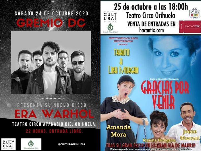 Gremio DC y un tributo a Lina Morgan en el Teatro Circo de Orihuela 6