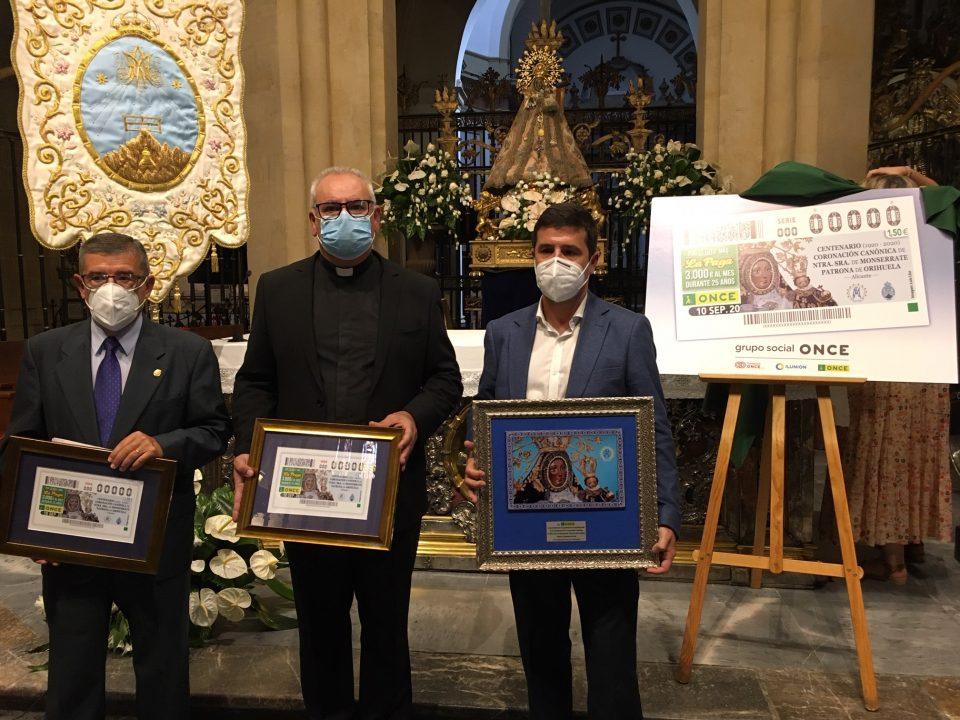 La ONCE dedica un cupón a la Virgen de Monserrate en el centenario de su Coronación 6
