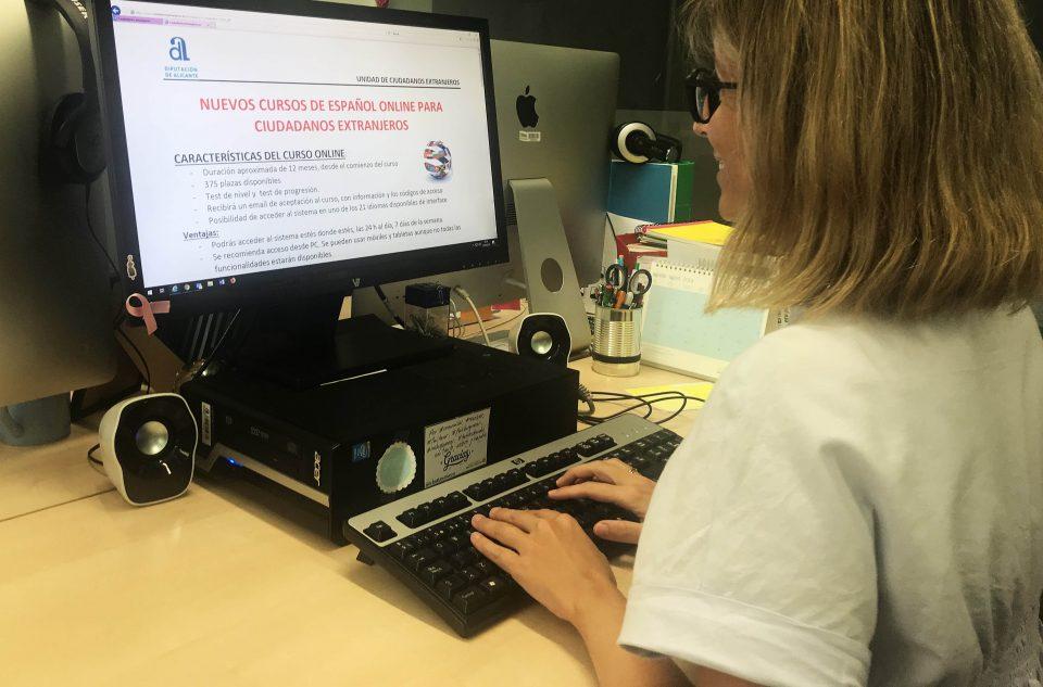 Diputación ofrece cursos de español para extranjeros online 6