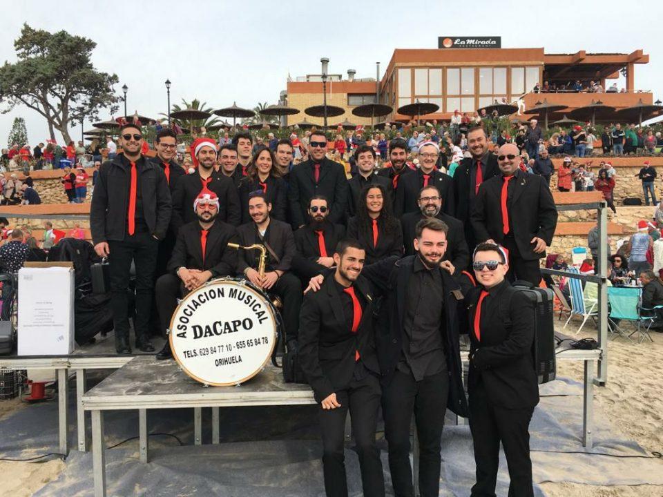 Orihuela se moverá este miércoles al ritmo de la Big Band DACAPO 6