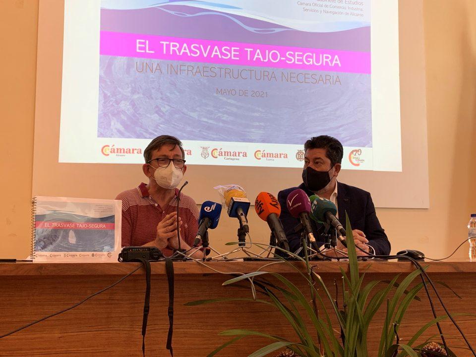 'El trasvase Tajo Segura. Una infraestructura necesaria', informe de las cámaras del sureste en defensa del acueducto 6