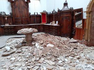 Se derrumba la sacristía de la Iglesia Santas Justa y Rufina de Orihuela 7