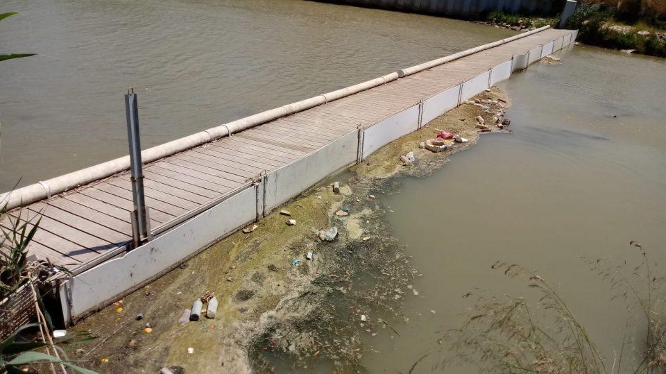 La CHS trabaja para evitar la acumulación de residuos en la desembocadura del Segura 6