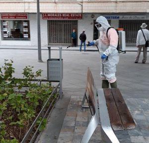 La Vega Baja desinfecta sus calles 7