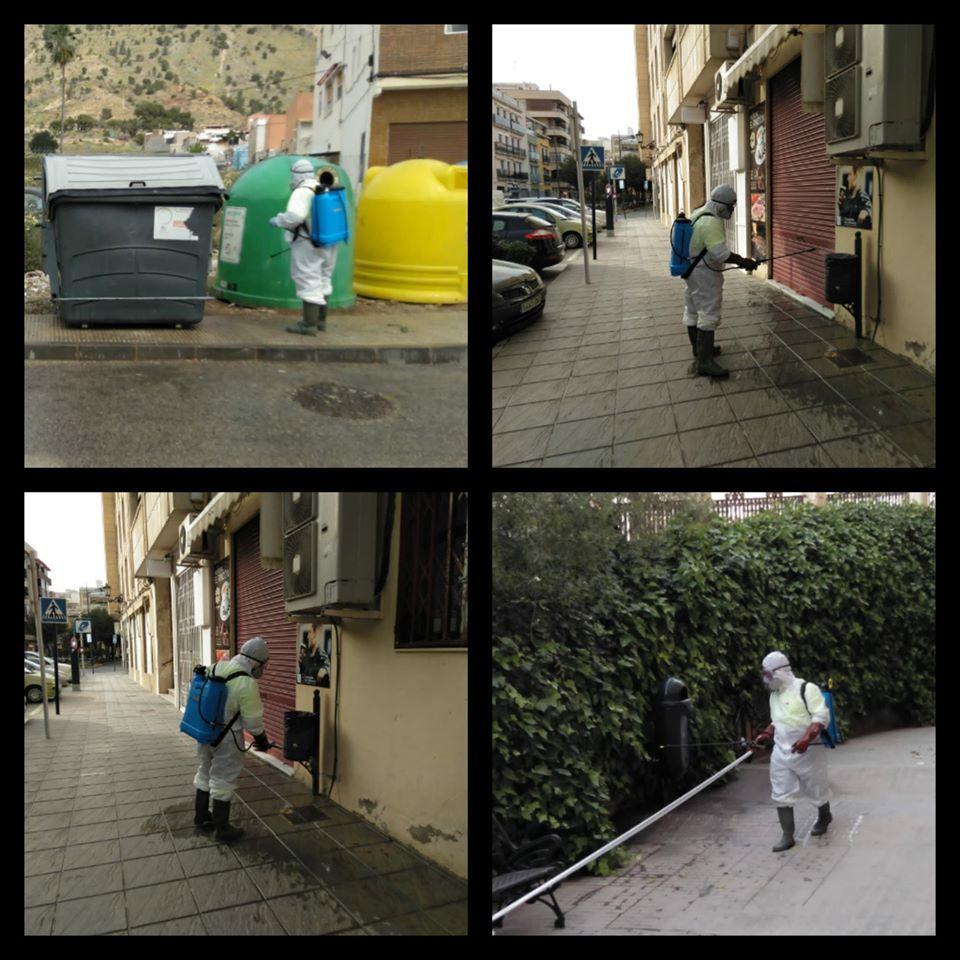 La Vega Baja desinfecta sus calles 6