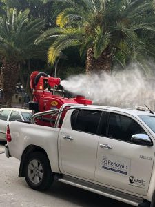 La Vega Baja desinfecta sus calles 8