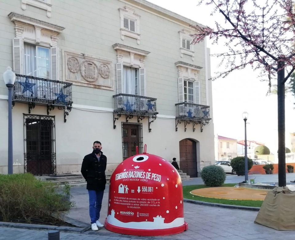 Limpieza Viaria Orihuela fomenta el reciclaje de vidrio en Navidad 6