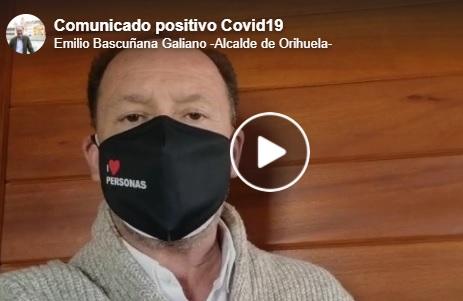 El alcalde de Orihuela, positivo en COVID19 6