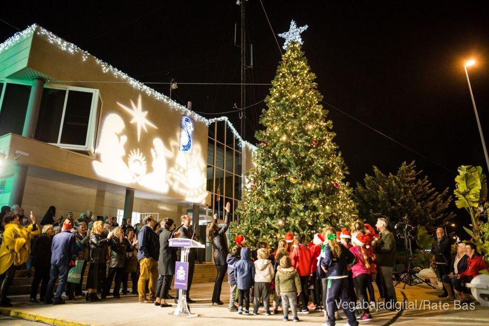 Las luces navideñas iluminarán Orihuela este viernes 6