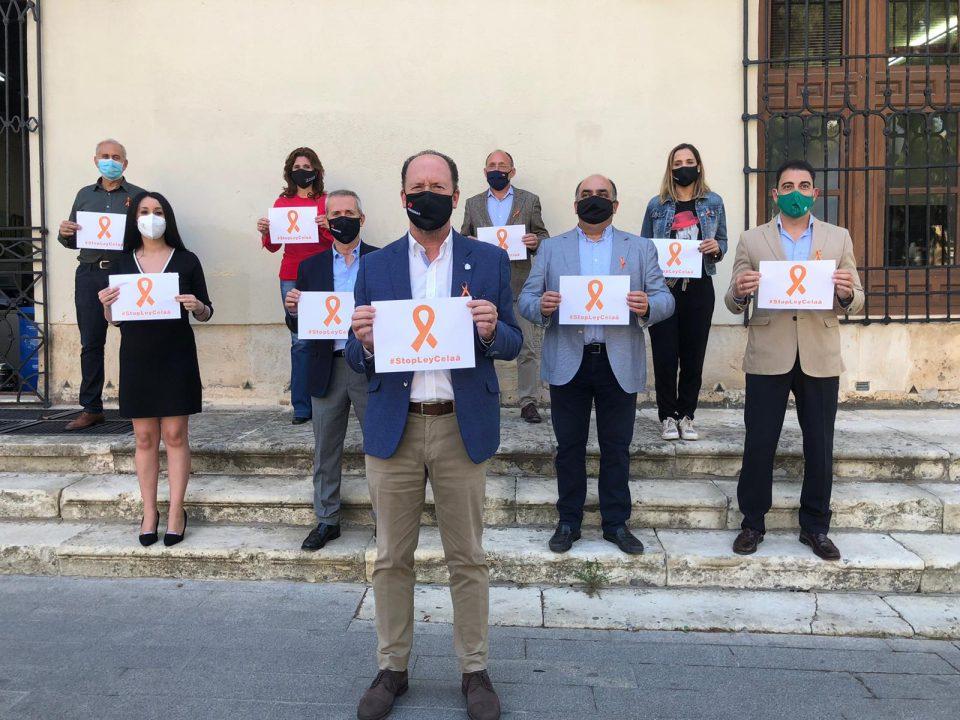 El Grupo Municipal Popular de Orihuela muestra su rechazo a la Ley Celaá 6