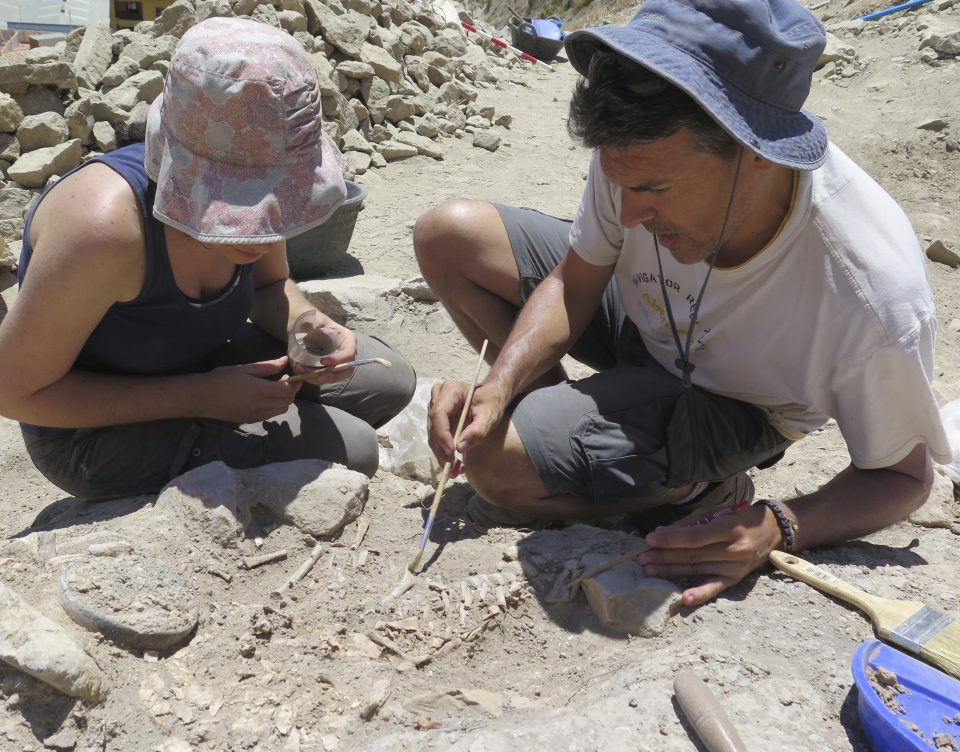 El MARQ recupera el yacimiento de la cultura argárica en las Laderas del Castillo de Callosa 6