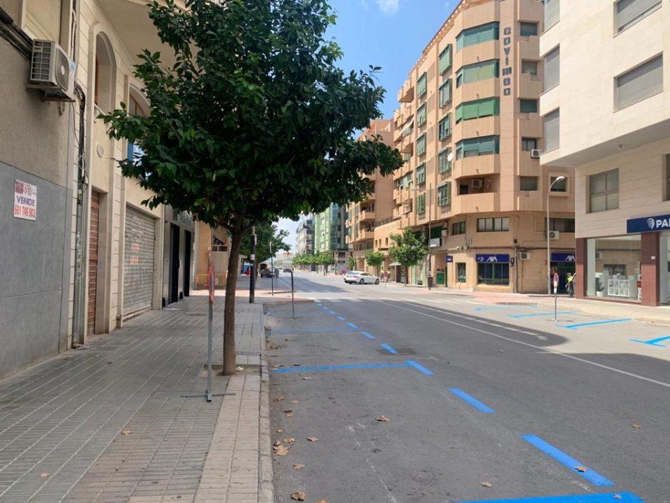 Aix aclara que la Zona Azul no se está ampliando en Orihuela 6