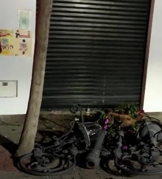 Aparatoso accidente en el centro de Orihuela 6