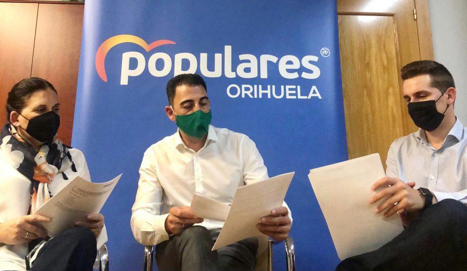 El PP presenta 23 enmiendas a los Presupuestos de la GVA por 66 millones con destino a Orihuela 6