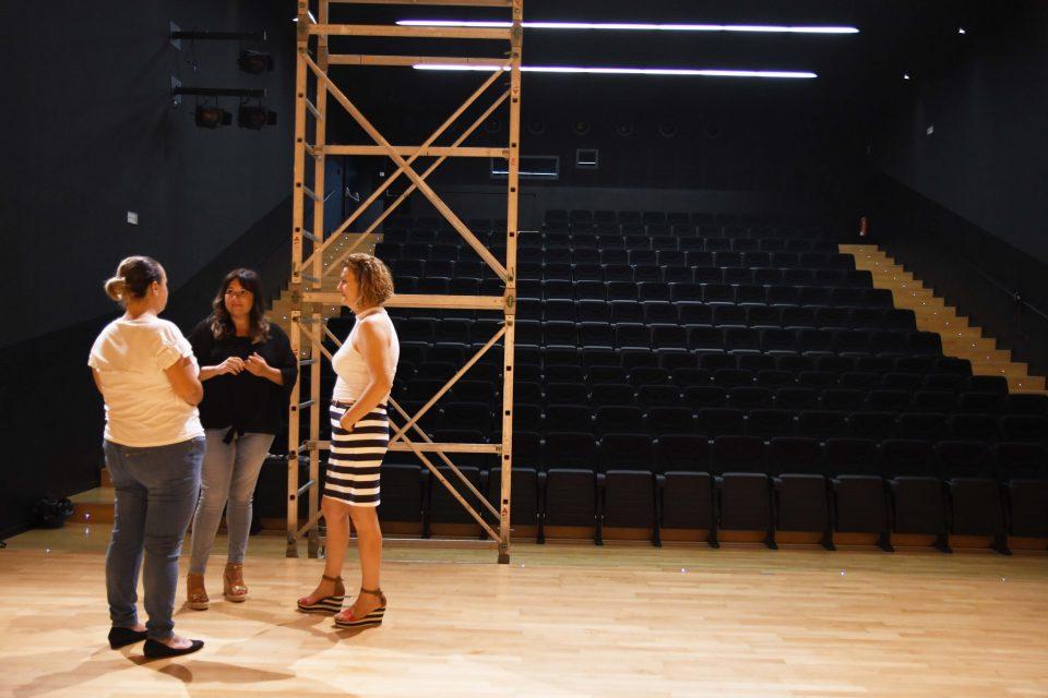 El Auditorio de San Bartolomé dispondrá de un telón motorizado 6