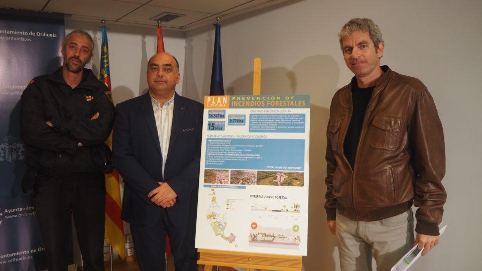 Emergencias presenta el Plan Local de Prevención de Incendios Forestales 6