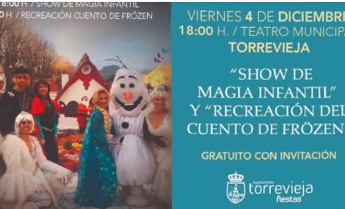 Nuevo pase del espectáculo de 'Frözen' en Torrevieja tras agotar las entradas del primero 6
