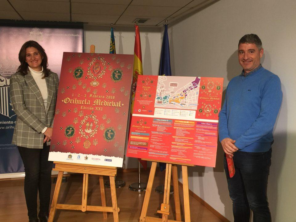 Orihuela preparada para la XXI edición del Mercado Medieval 6