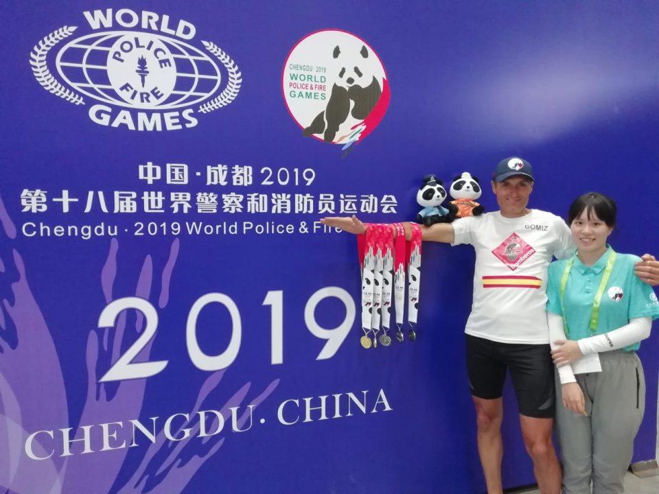 Un bombero de Almoradí triunfa en los juegos mundiales para Policías y Bomberos 6