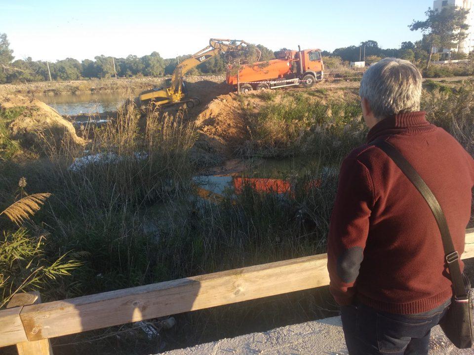 El alcalde de Guardamar pide a la CHS la adecuación urgente del antiguo cauce del río 6