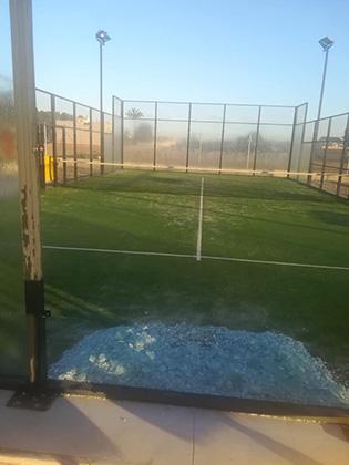 Las instalaciones deportivas de Rojales sufren actos vandálicos 6