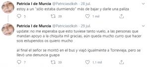 Un hombre se masturba en un autobús hacia Torrevieja sentado junto a una chica 9