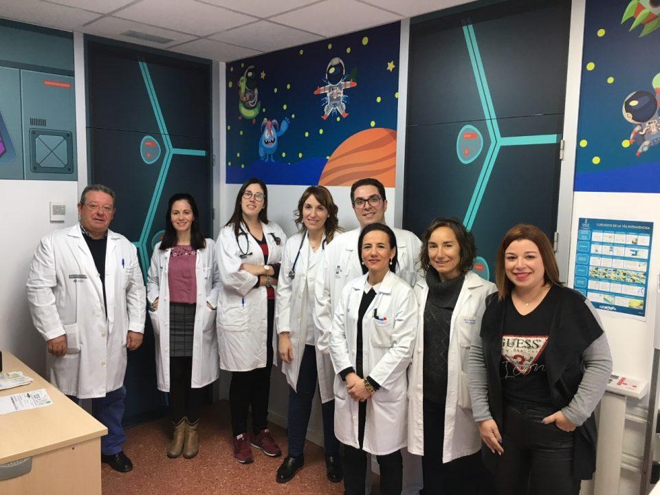 El área de Urgencias de pediatría del Hospital Vega Baja es de otra de galaxia 6
