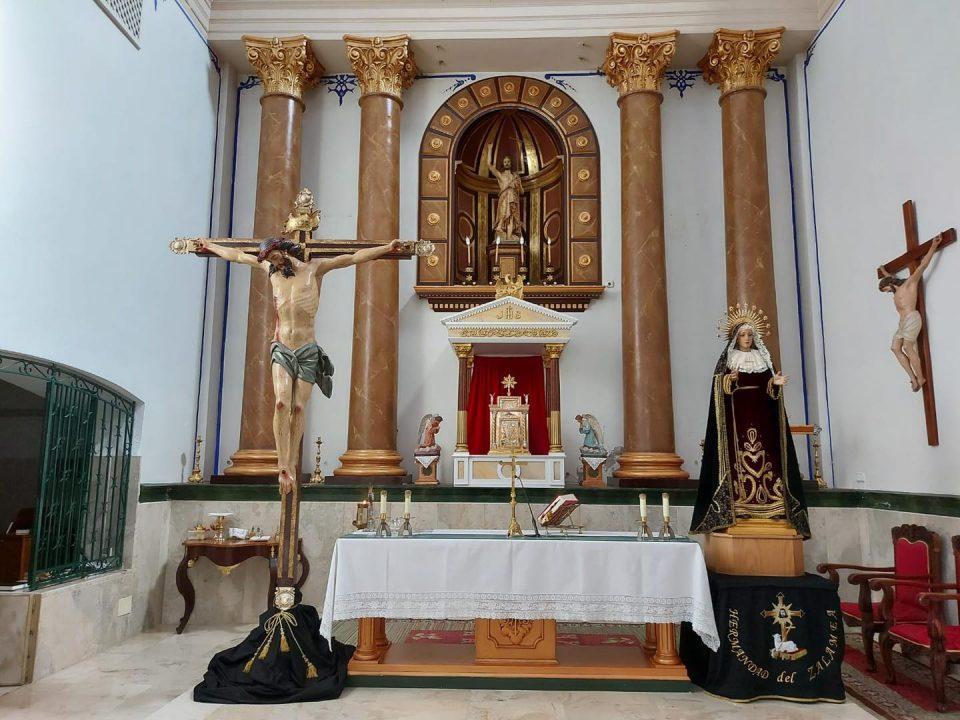 Eucaristía en honor al Santísimo Cristo de Zalamea y María Santísima del Consuelo 6