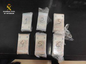 Cuatro detenidos en la Vega Baja por tráfico de drogas durante controles del cierre perimetral 8