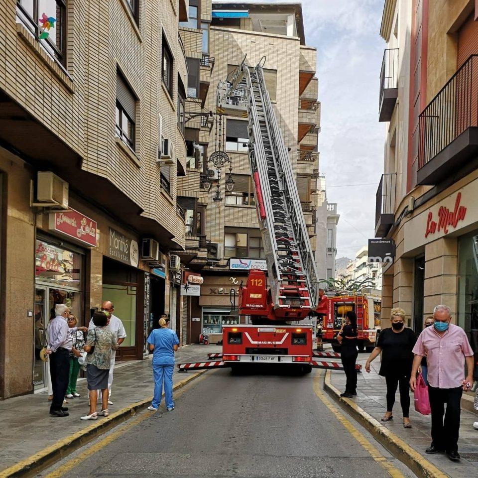 Incendio en la cocina de una vivienda en Orihuela 6