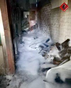 Un incendio calcina una panadería de Almoradí 7