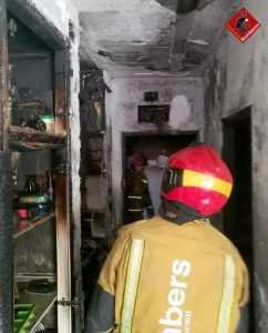 Dos incendios en Torrevieja y Almoradí 8