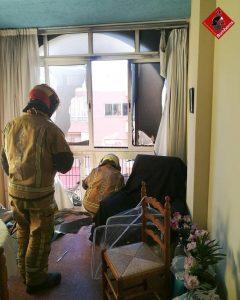 Dos incendios en Torrevieja y Almoradí 11