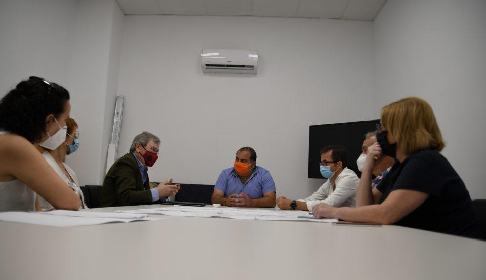 Orihuela pide ayuda a la Dirección General del Agua para solucionar los efectos de las lluvias 6