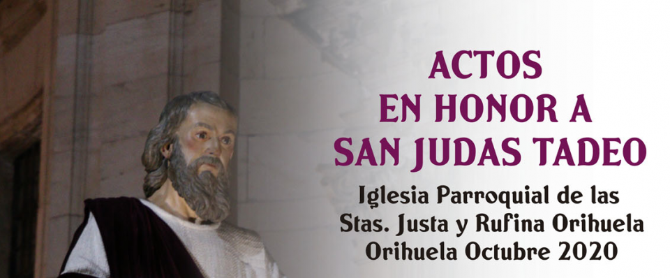 Comienzan los actos en honor a San Judas Tadeo 6