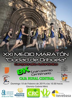 """La Media Maratón """"Ciudad de Orihuela"""" aterriza el 10 de febrero 6"""