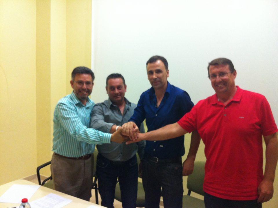 Firma del acuerdo en 2015