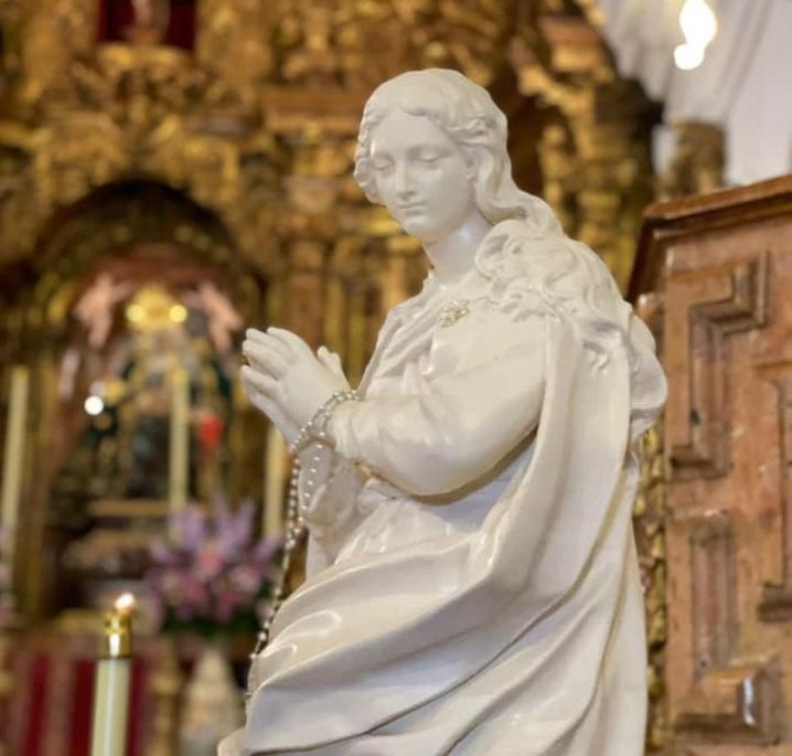 """Las clarisas acogen a la """"Madre, ven"""" que hace parada en Orihuela durante su peregrinación 6"""