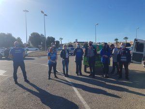 Un centenar de coches acude a la manifestación en caravana contra la ley Celaá 8