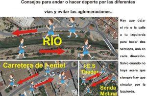 La Policía Local de Orihuela pide guardar el distanciamiento social en las salidas a la calle 7