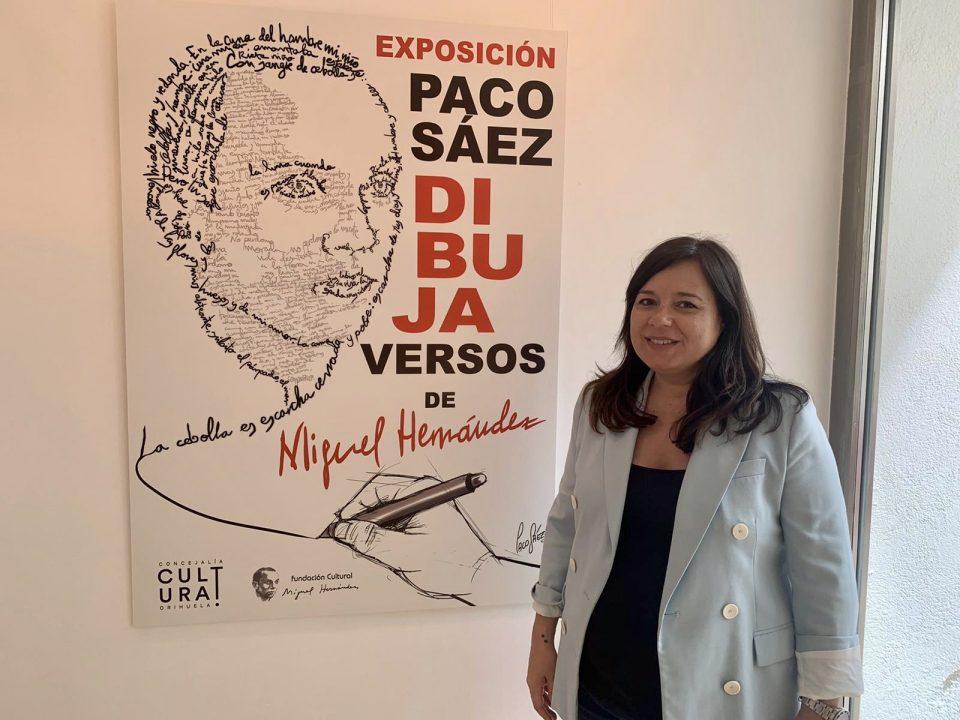 Orihuela recibe la exposición del ilustrador Paco Sáez en homenaje a Miguel Hernández 6