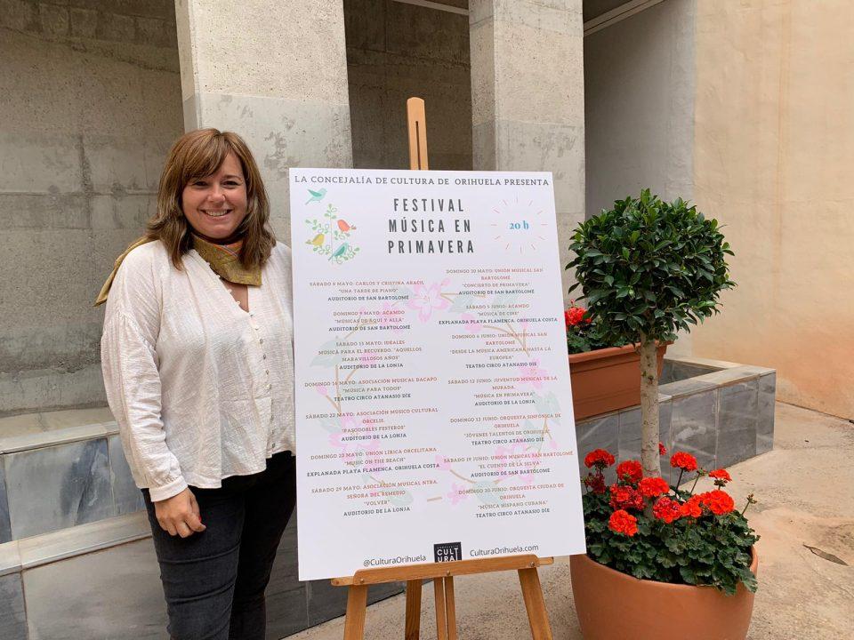 Festival 'Música en Primavera' con las actuaciones de bandas locales en Orihuela 6