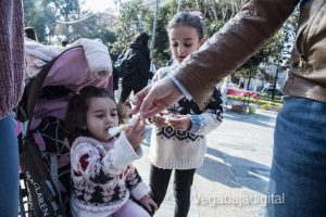 Los niños se adelantan a las campanadas en Orihuela 14