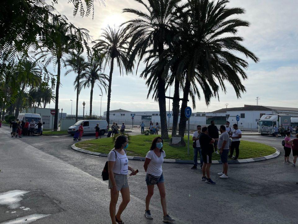 Los mercaderes de Orihuela deciden no instalar sus puestos por el horario de montaje 6