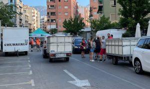 Los mercaderes de Orihuela deciden no instalar sus puestos por el horario de montaje 7
