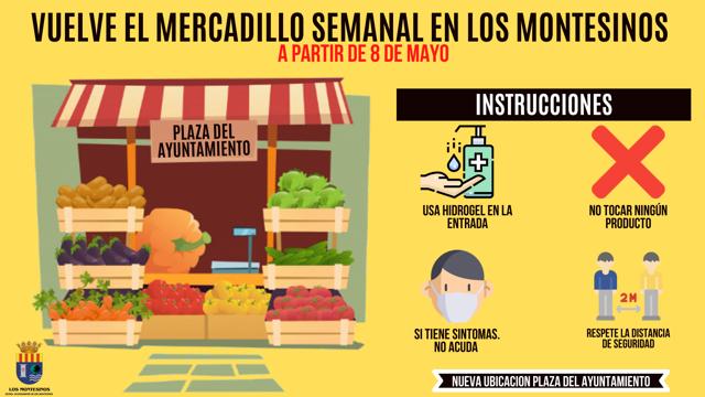 Vuelve el mercado en Almoradí y en Los Montesinos 6